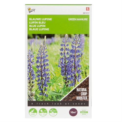 Buzzy® Groenbemester Lupine Blauwe Bittere 100g (8)