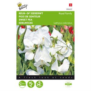 Buzzy® Lathyrus, Reuk- of siererwt Royal Family Wit