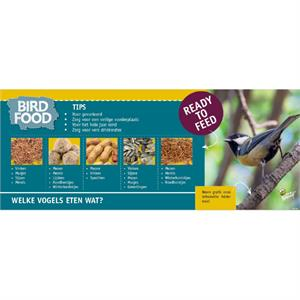 Kopkaart  Bird Food informatie 39.7x99.5 (1)